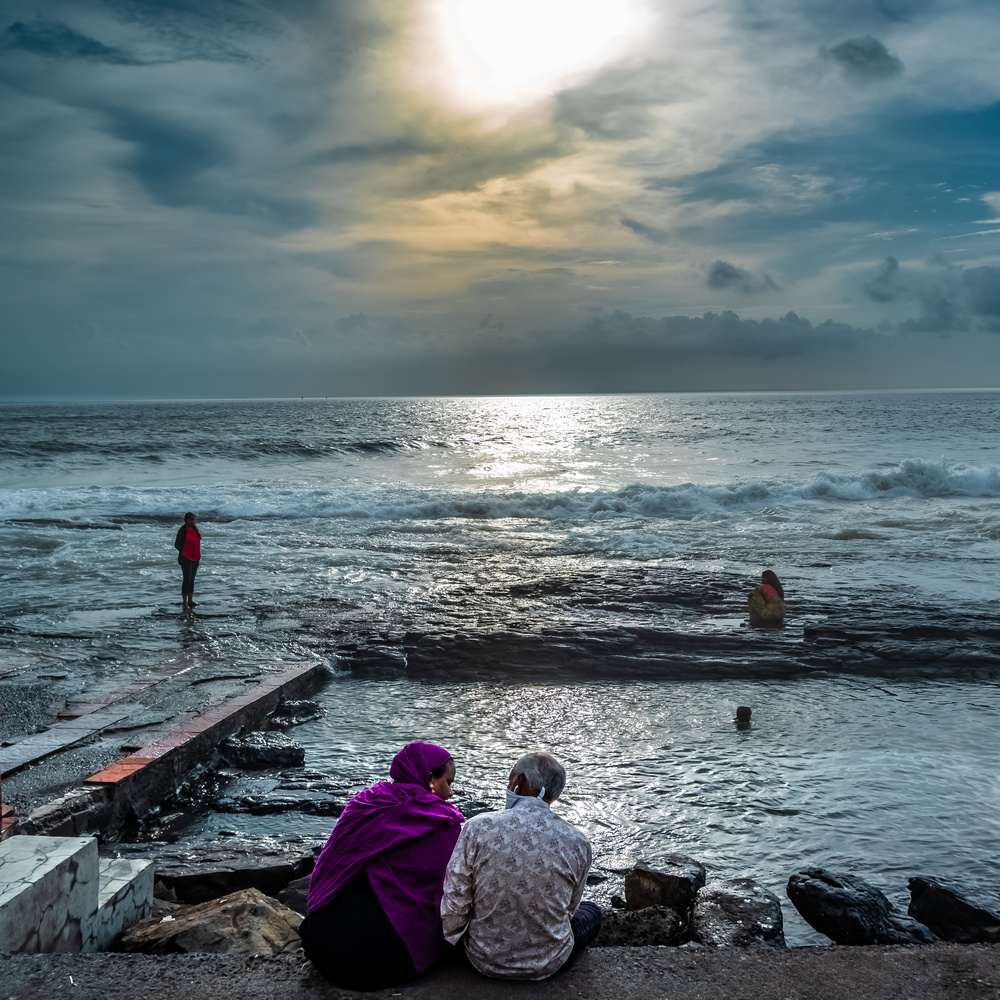 Conversation With Sea by Ayan Bhattacharya
