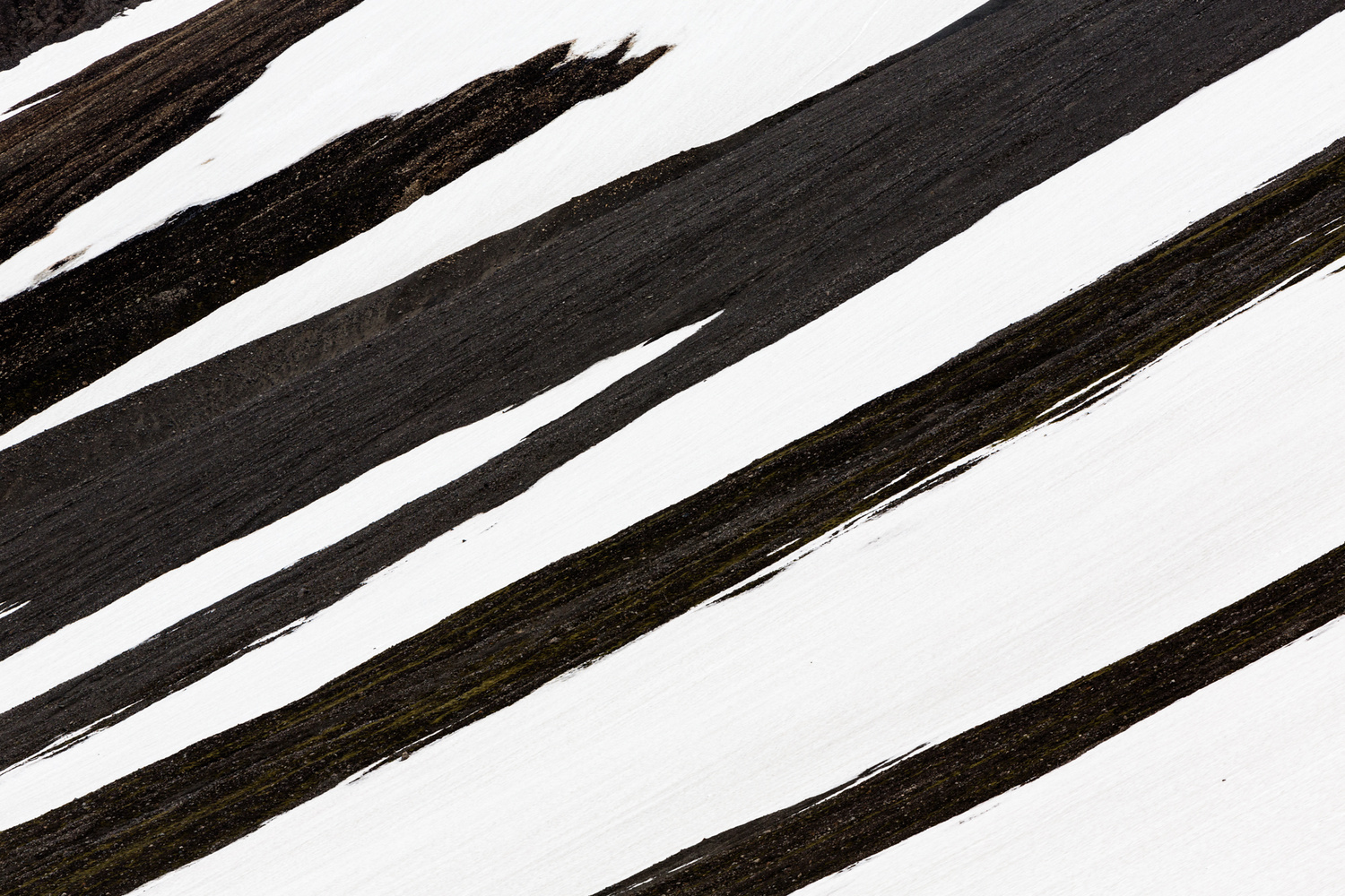 Snow Abstract by Thomas Even