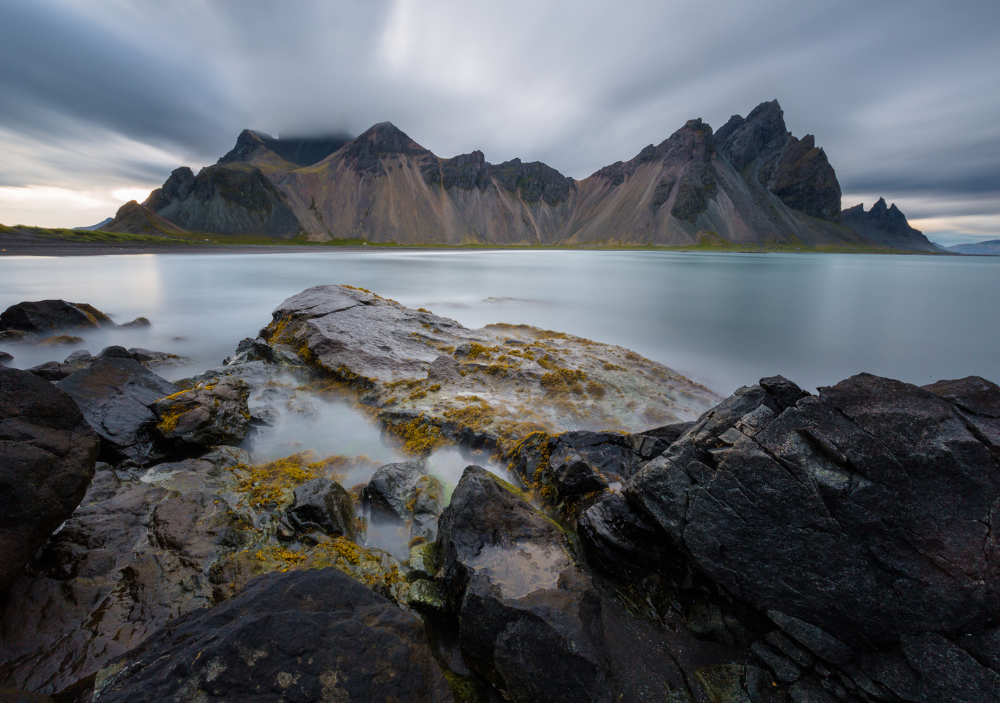 Vestrahorn after storm by Thomas Even