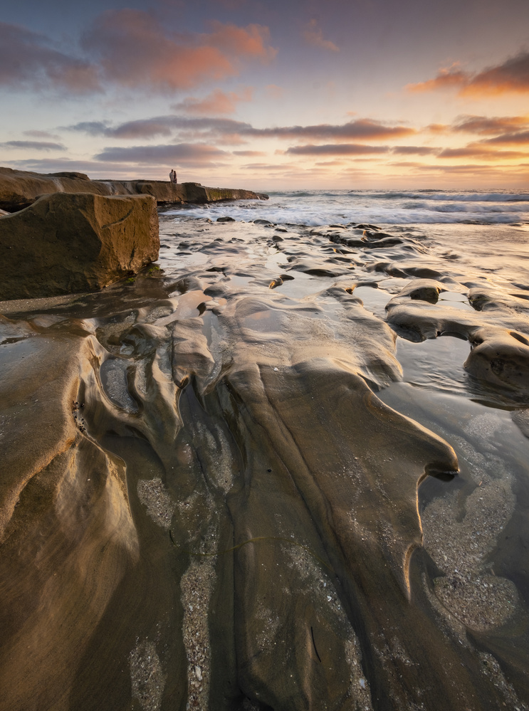 Romance at the Tide Pools by Thomas Even