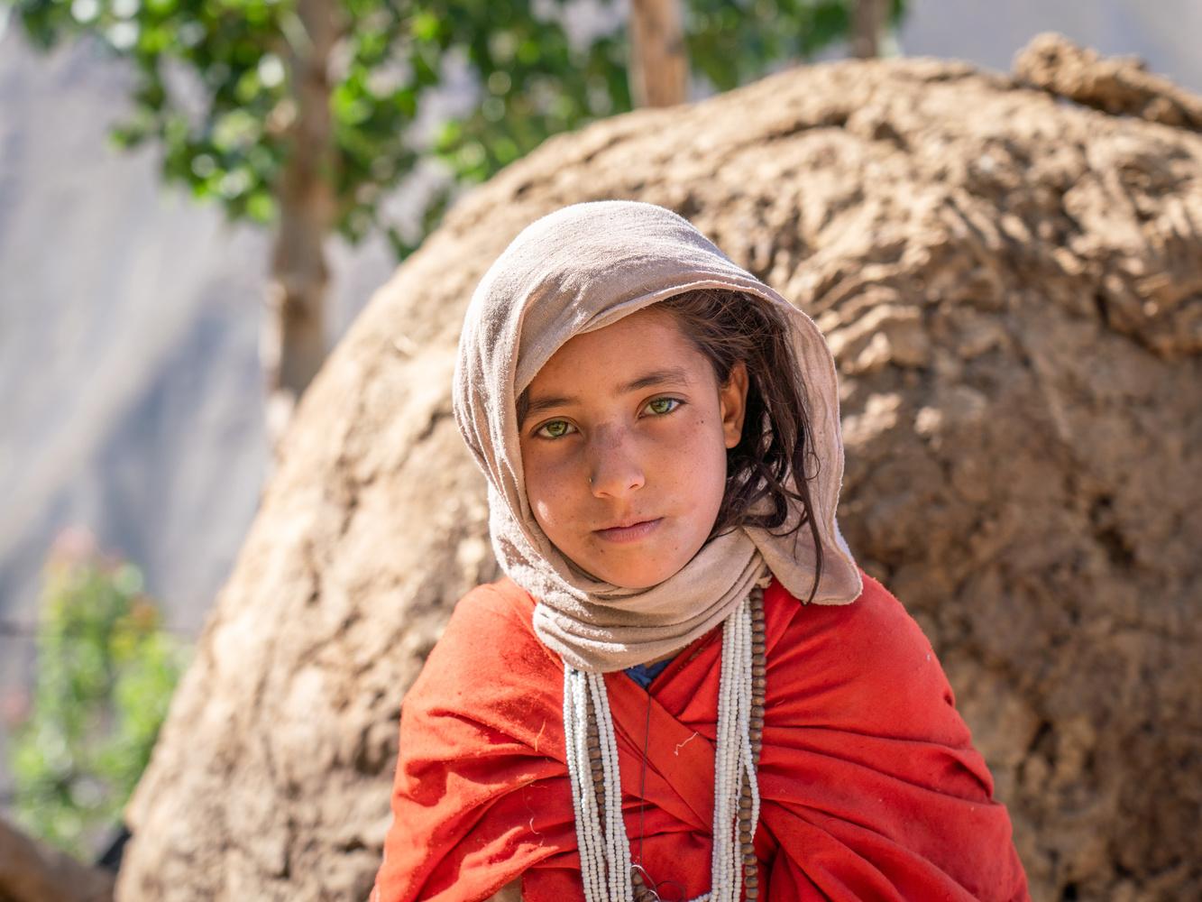 Panjshiri Girl by Michael Jardine
