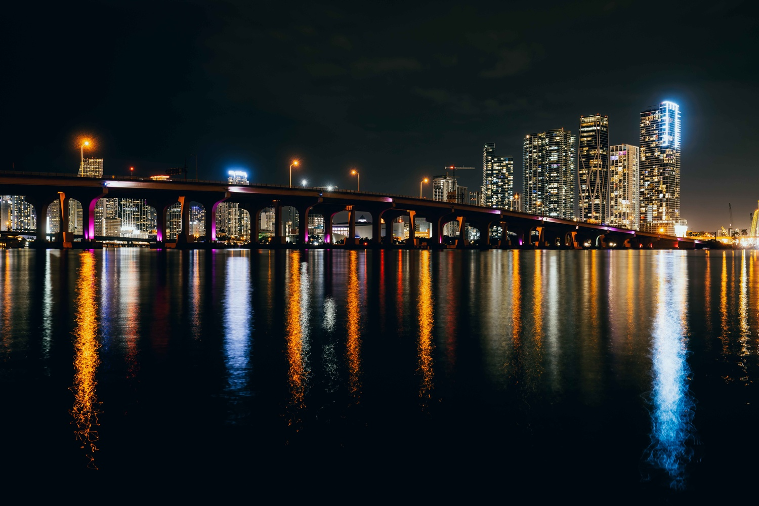 Downtown Miami Skyline by Luis Corchon by Luis Corchon