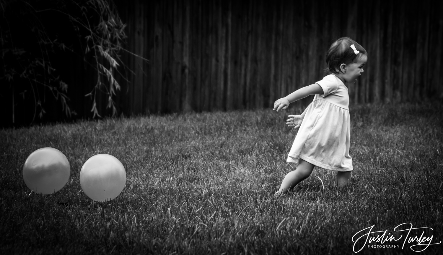 The Ballons are Chasing Me by Justin Turley
