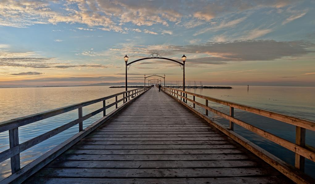 Whiterock Pier by Paul Langereis