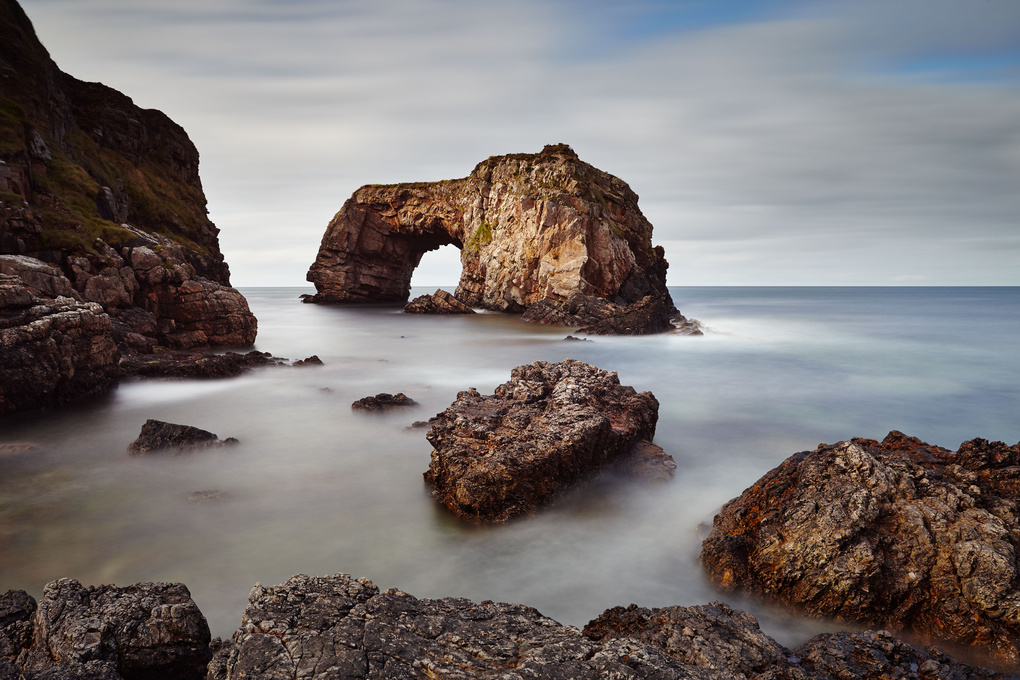 Great Pollet Sea Arch by Paul Langereis