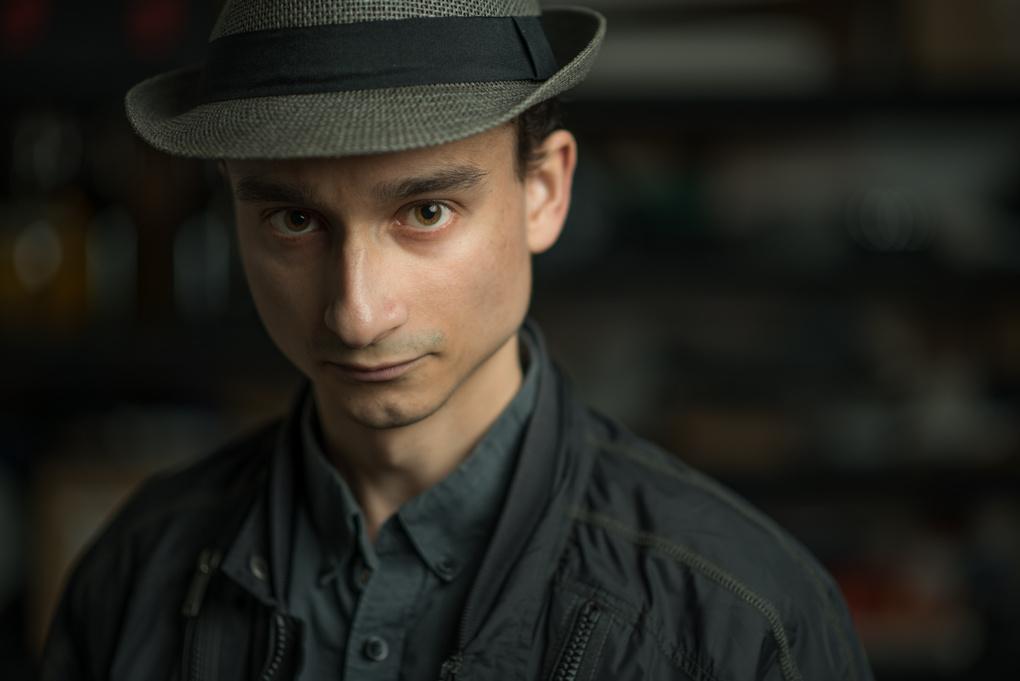 Self Portrait by Dominic Manea