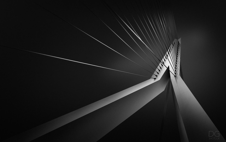 Erasmus Bridge by David Garthwaite