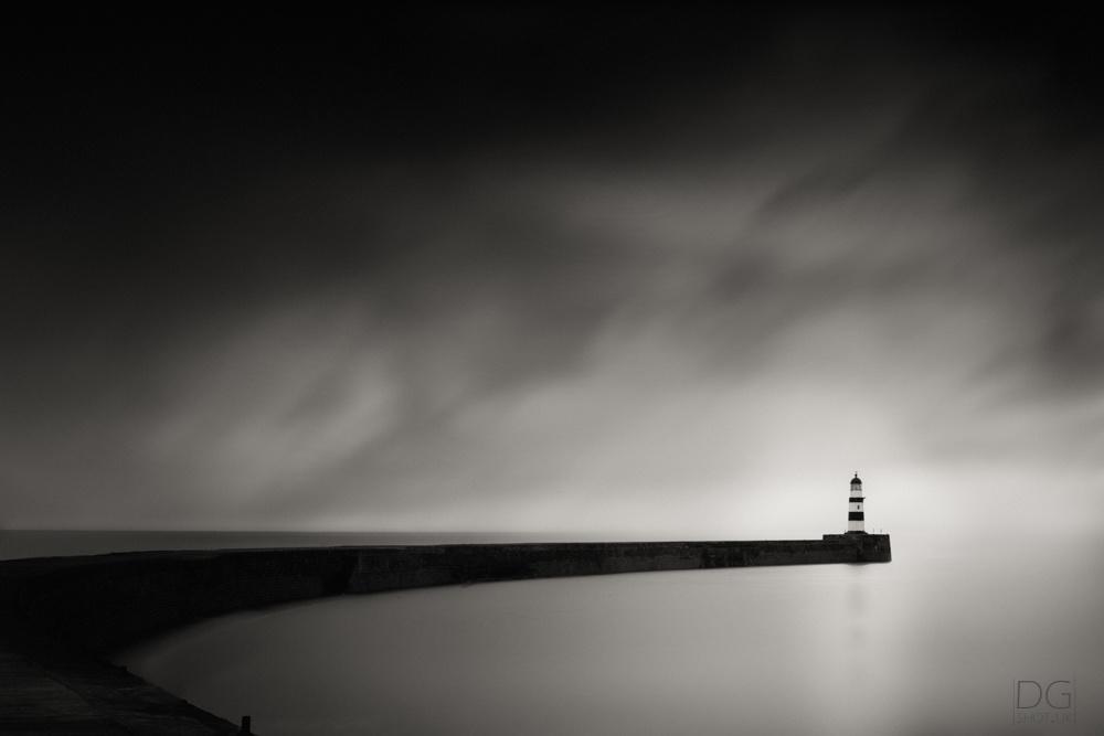 Seaham Pier by David Garthwaite