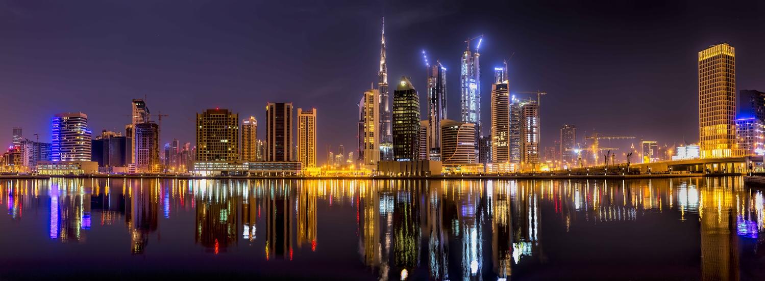 Business Bay, Dubai by Derek Brawdy
