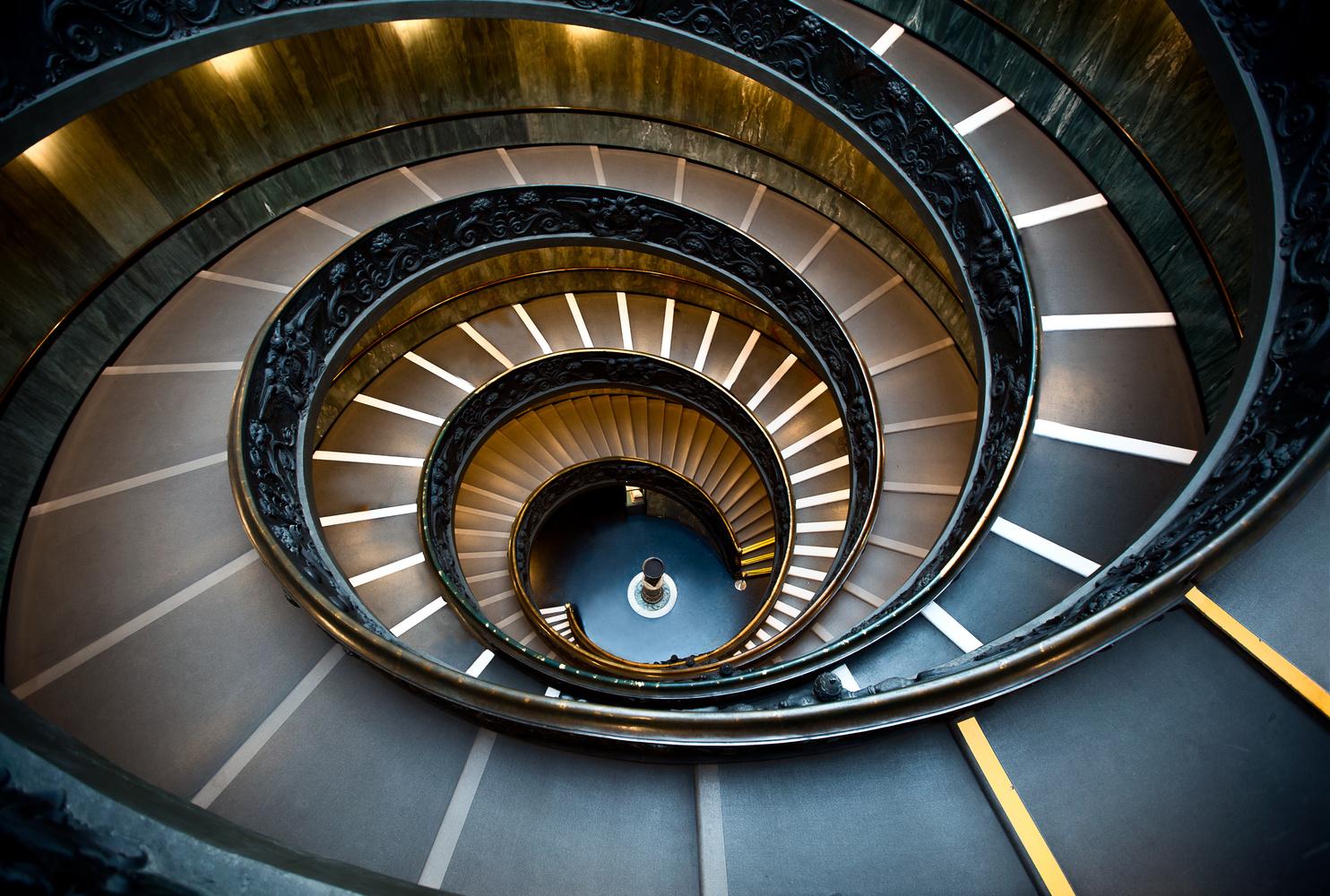 Bramante Staircase by Derek Brawdy