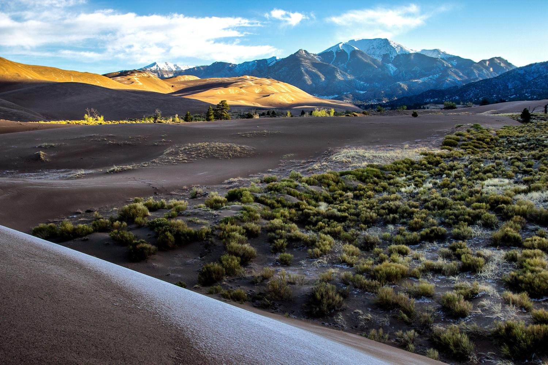 Frozen Dunes at Dawn by Derek Brawdy