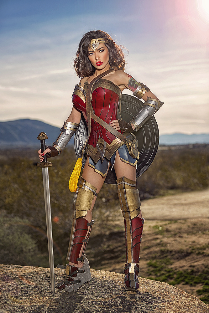DOJ Wonder Woman with Brazilian Bombski by Anthony Scott