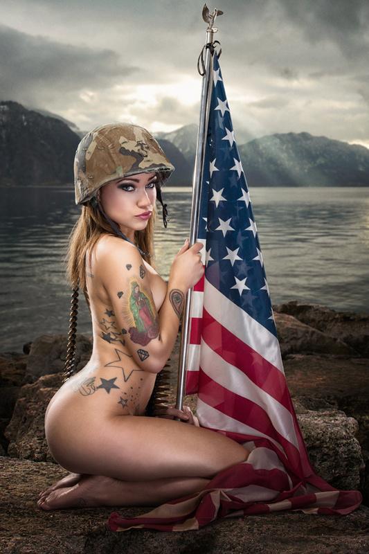 God Bless America by Anthony Scott