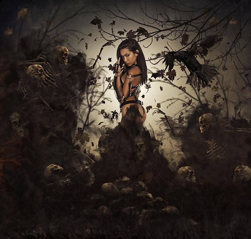 Darkness Falls by Anthony Scott