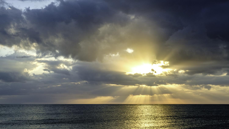 Sunset on the Gulf by Jeffery Cullman