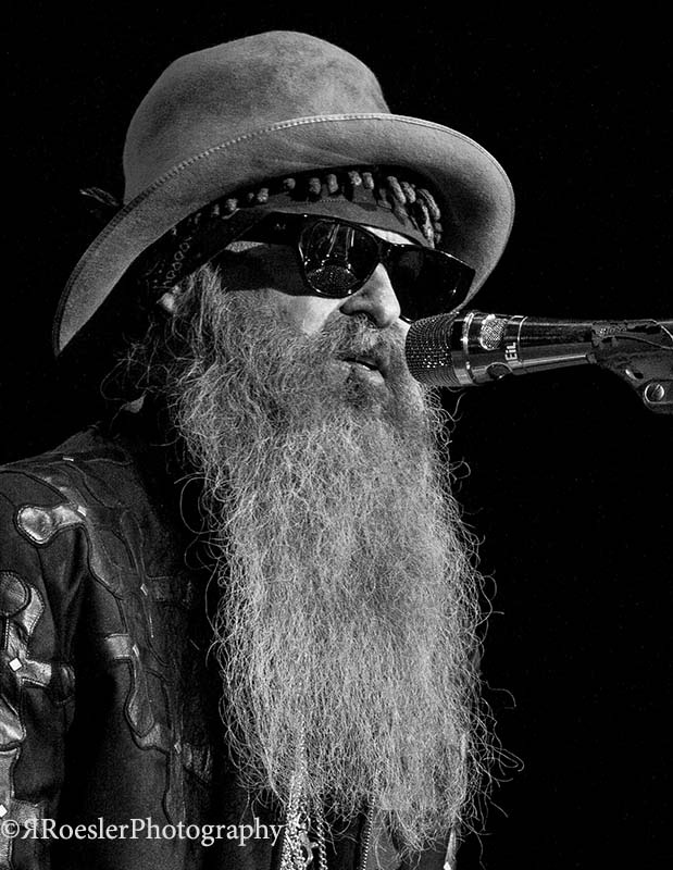 Billy Gibbons by Richard Roesler