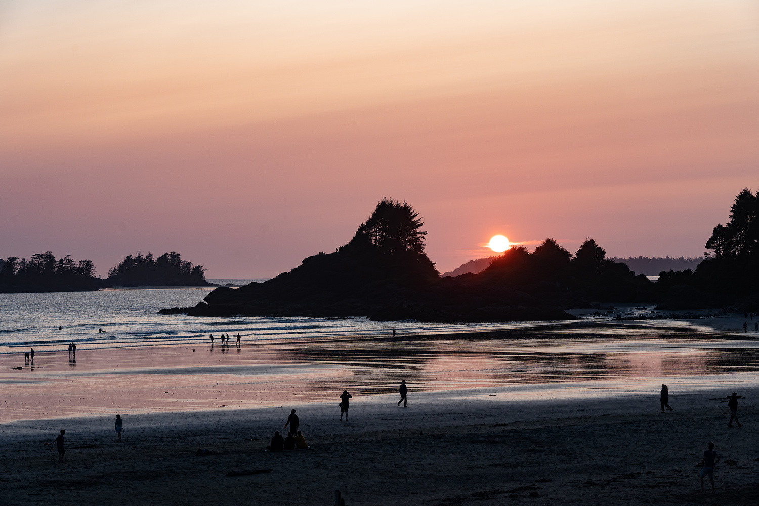 Tofino BC sunset by Colin Henderson