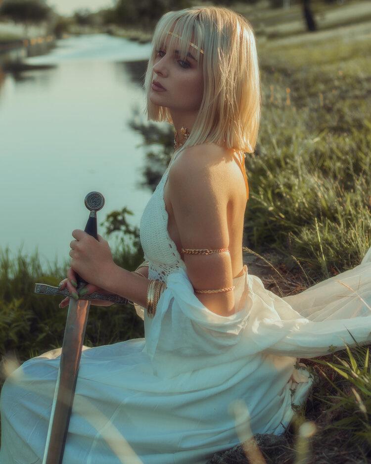 Lady of the Lake by Ruben Zamora