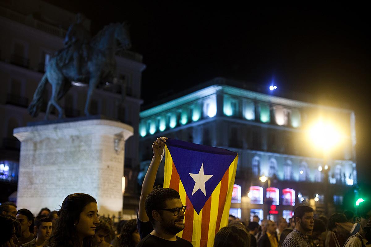 Solidarity with Catalunya. by Owain Shaw