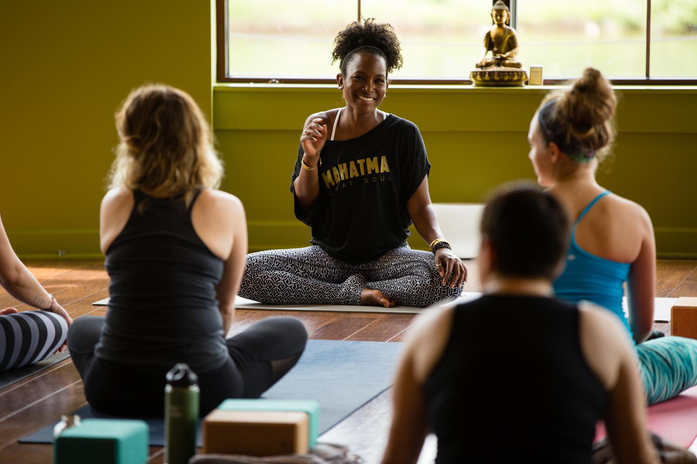 Faith Hunter Yoga by Andrew Feller
