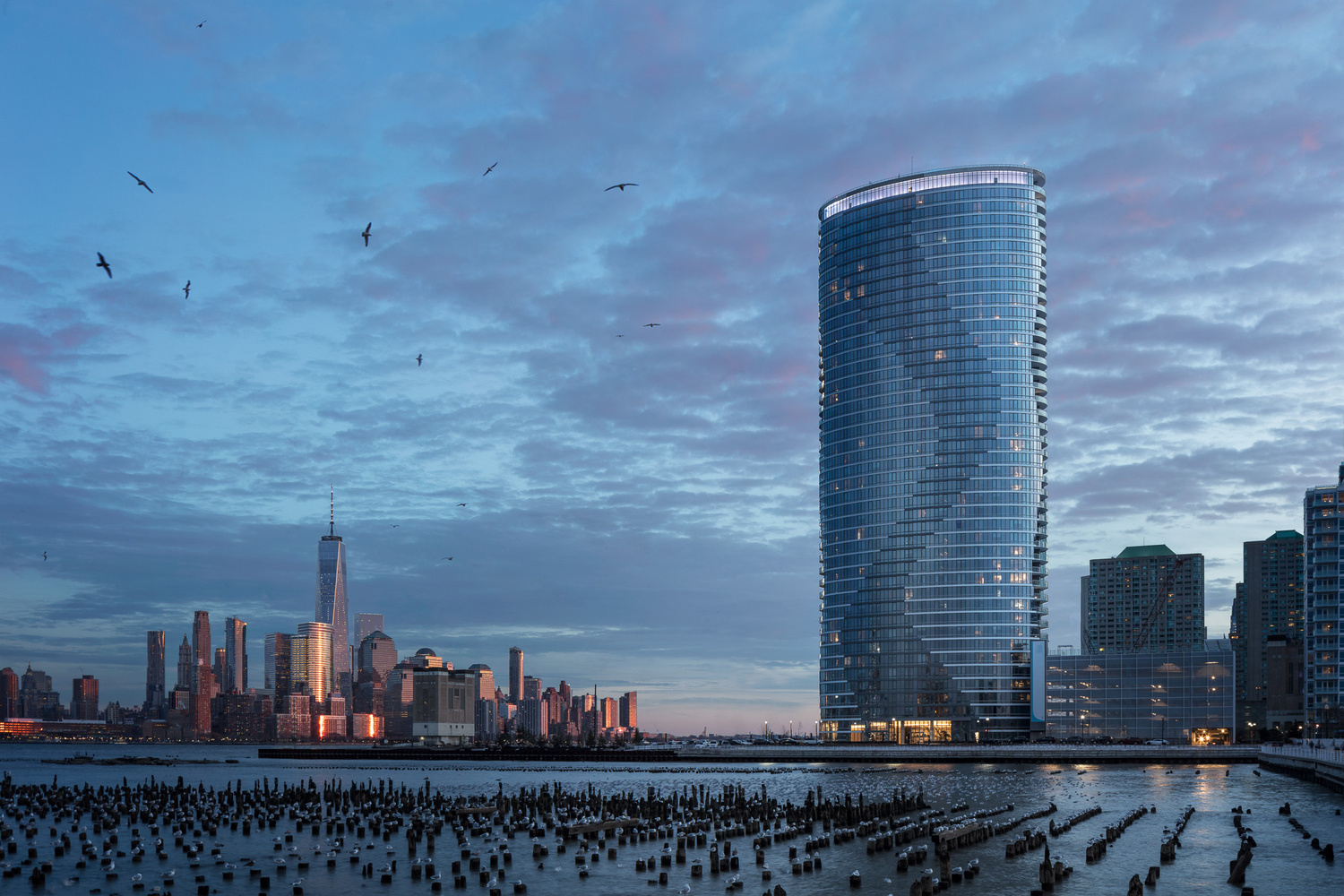 The Ellipse Apartment Tower by Mike Van Tassell