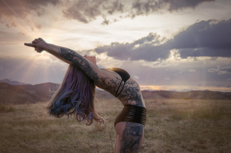 Illuminating Yoga on the Mountain by Tony Ciccone