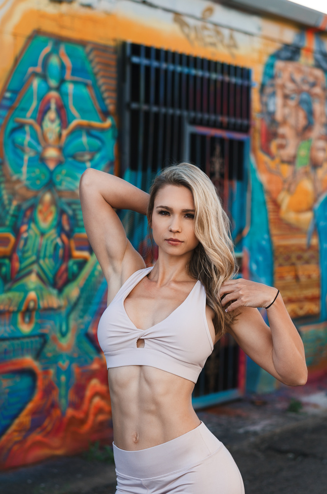 Fitness Shoot Downtown Denver by Tony Ciccone