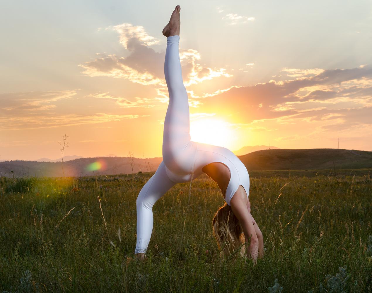 Yoga Photography in Colorado   Denver Yoga Girl Princess Bee by Tony Ciccone