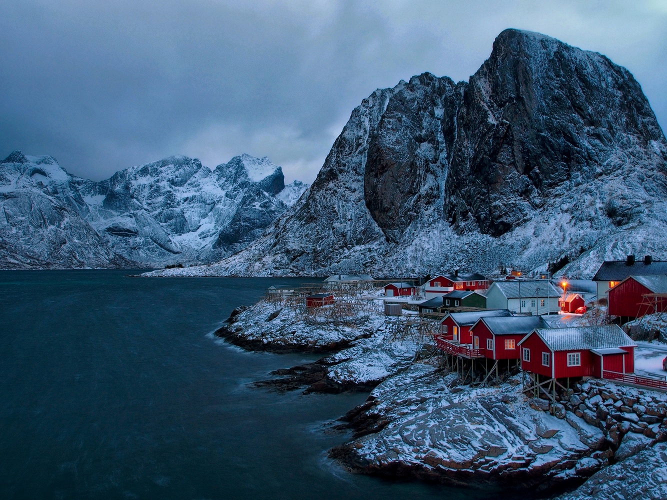 Hamnoy by Olivier Moulin
