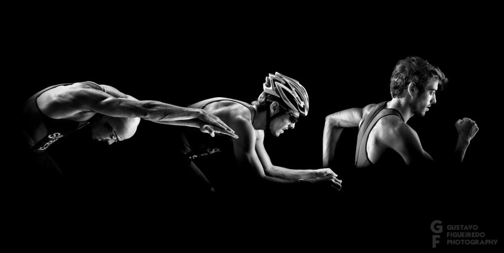 Triathlon Triptic by Gustavo Figueiredo