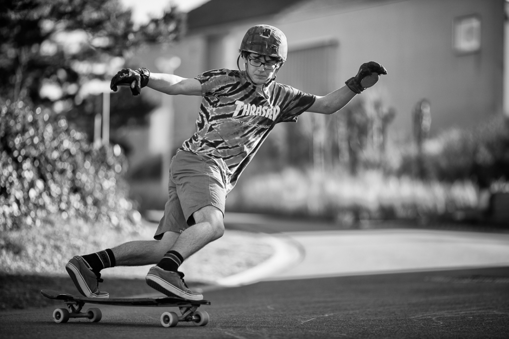 downhill stakebording by YL Photographie