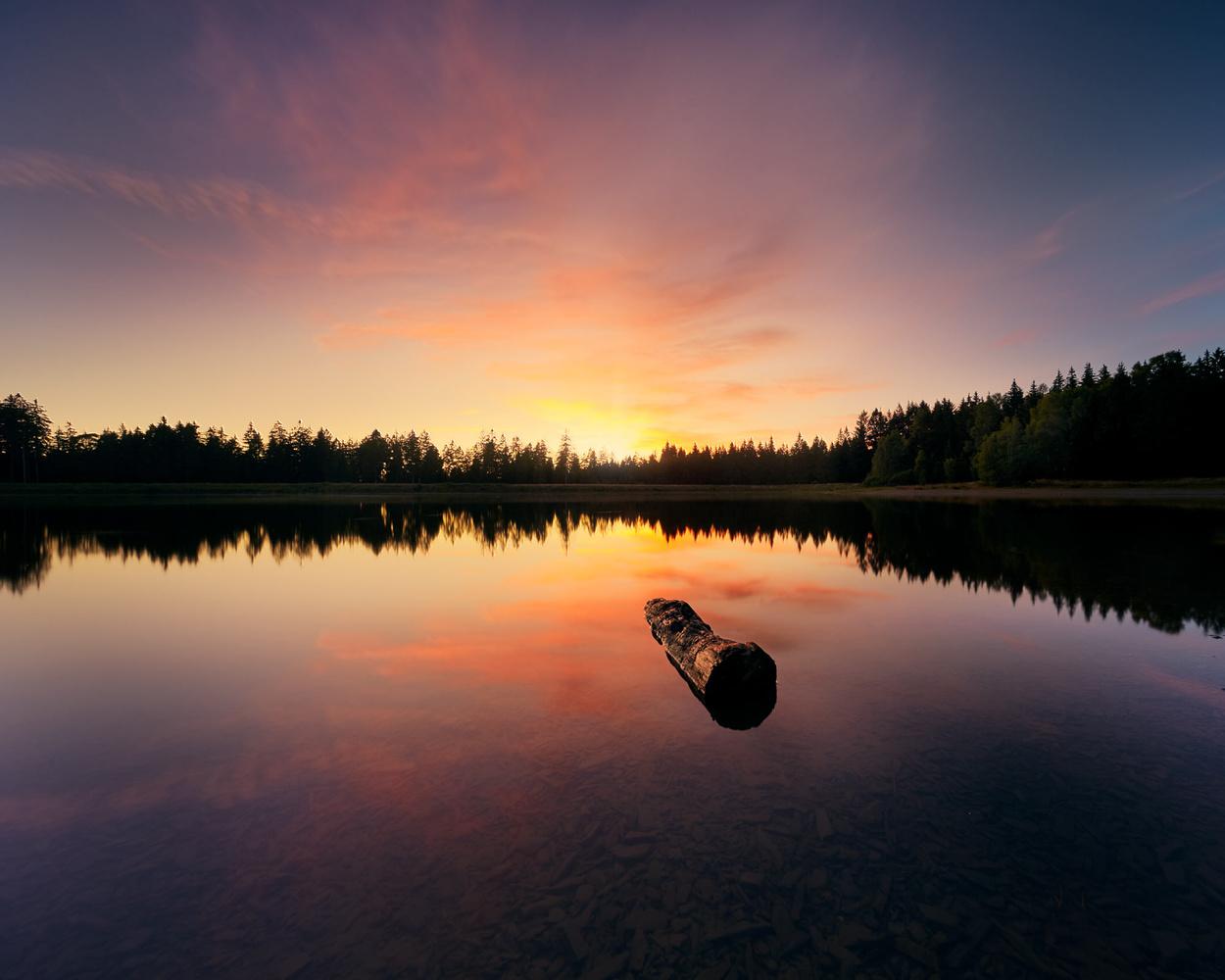 Sunset Harz by Jan Christian Zimara
