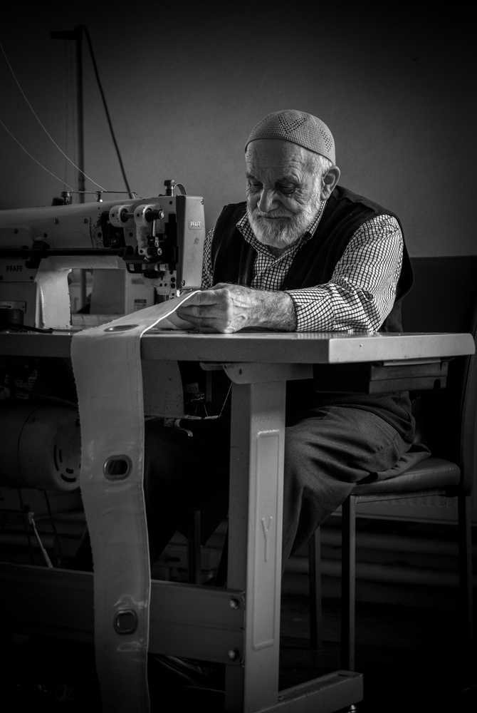 old tailor by yasar aykac