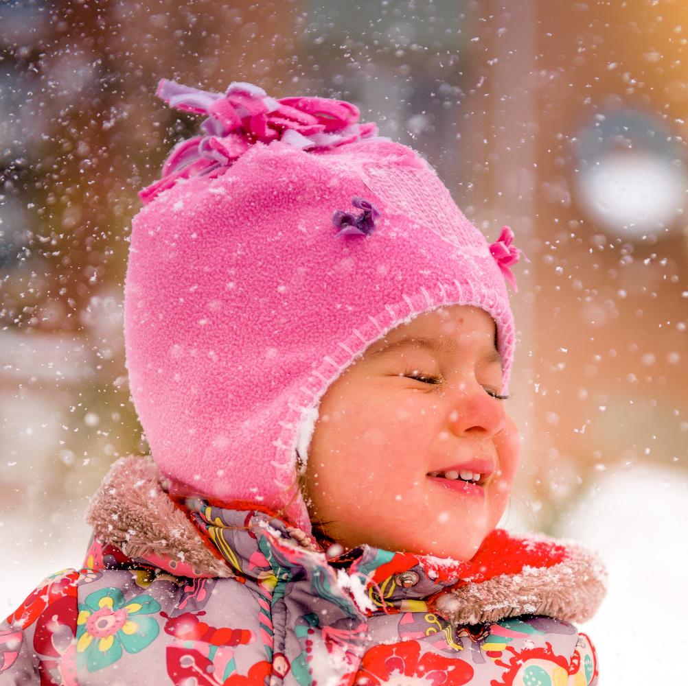 snowy girl by yasar aykac
