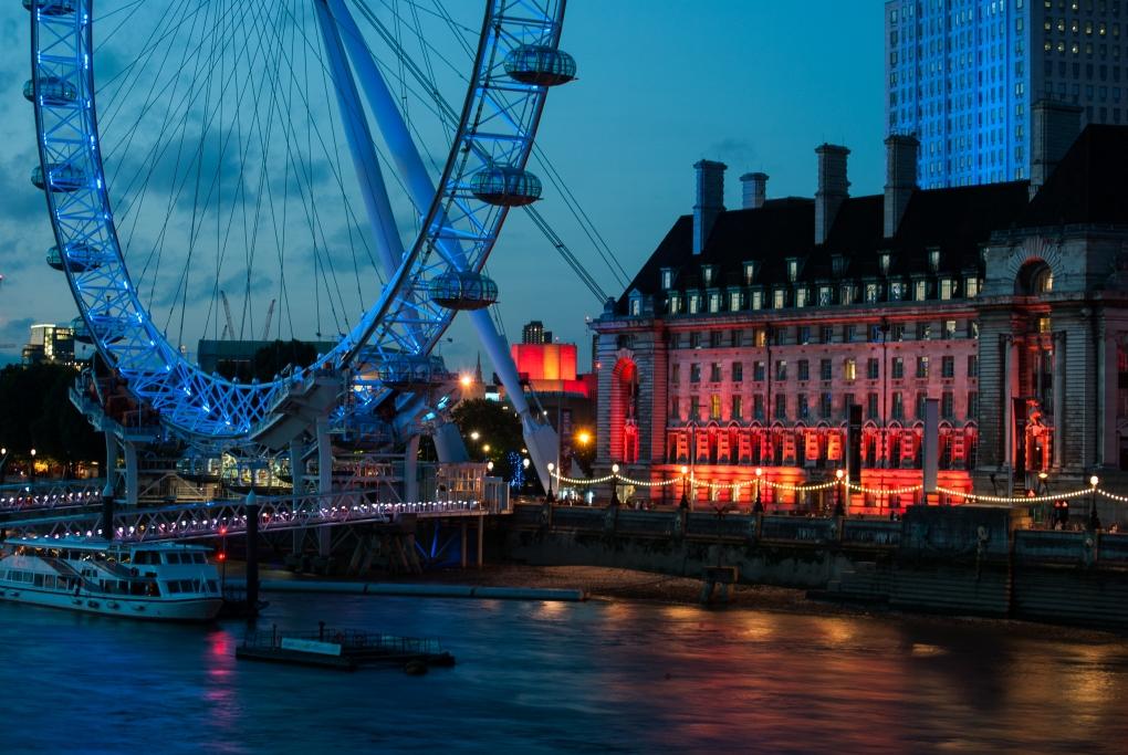 London Eye of Thames by Rachel Gunther