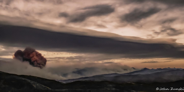 Nuclear Sunset by John Zunski