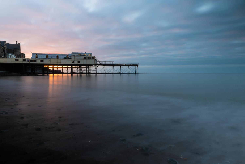 Aberystwyth Pier by Ben Browning
