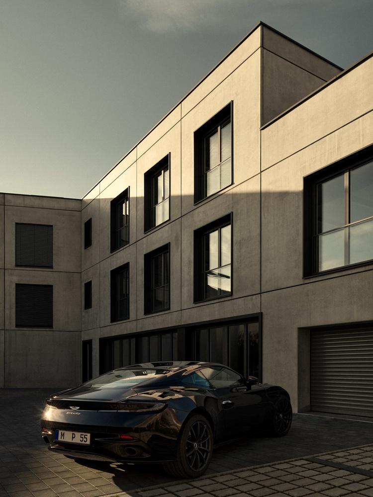 Aston Martin by Robert Sakowski
