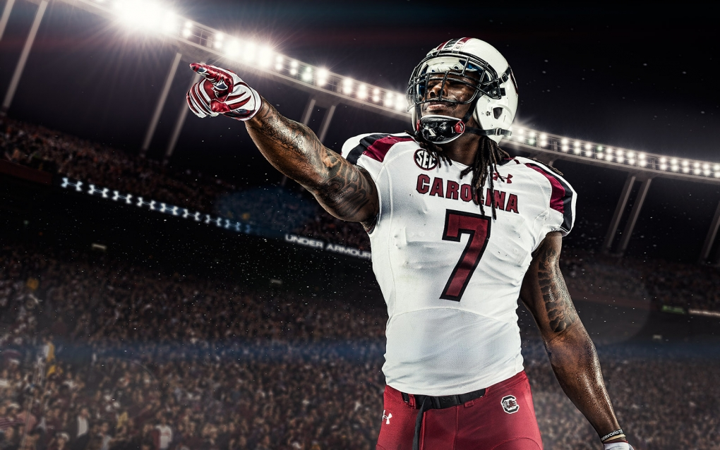 Jadeveon Clowney - Gamecocks by James Quantz Jr