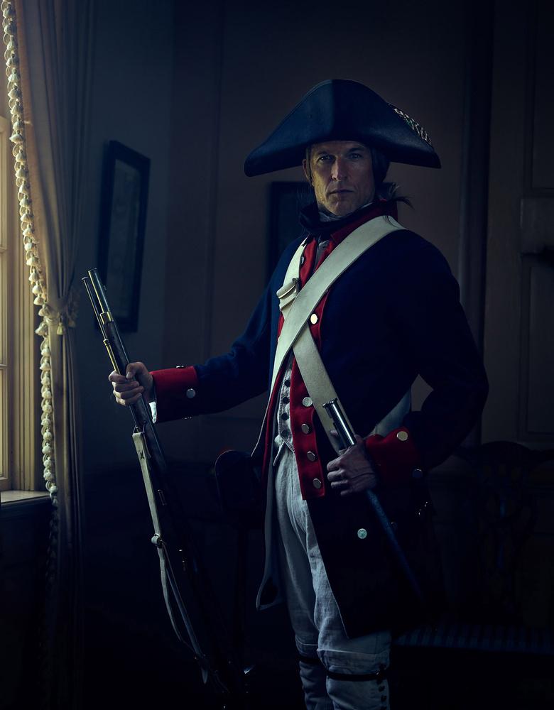 Patriot Portrait by James Quantz Jr