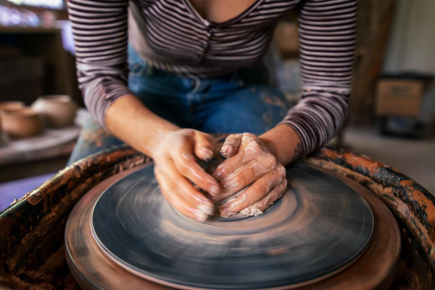 Potter's Hands by Abby Ferguson, MFA
