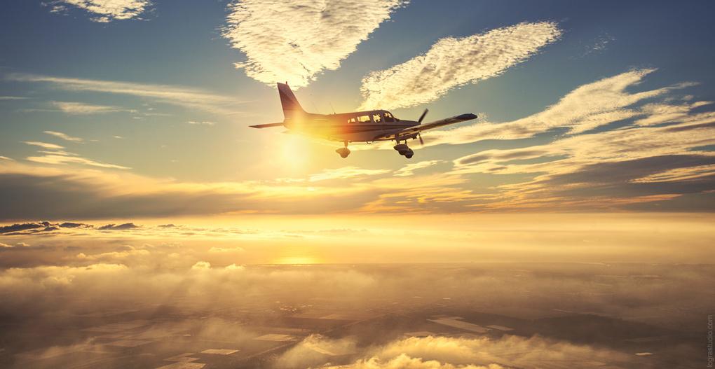 Chasing clouds by Irina Logra