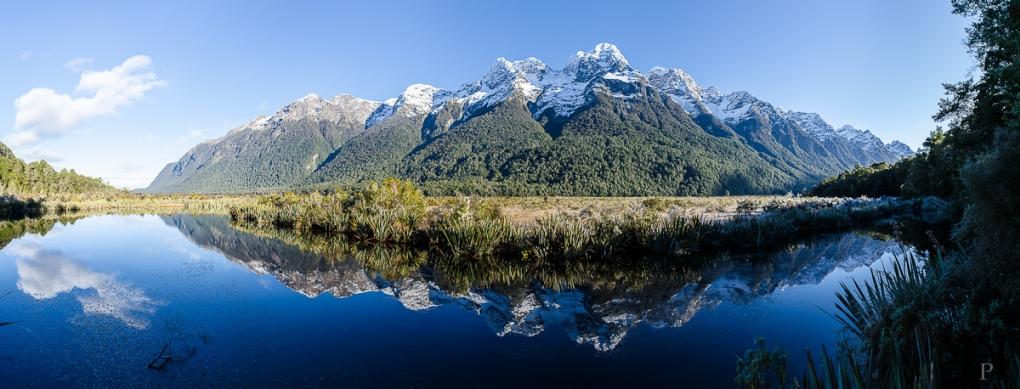 Mirror Lakes by Helmut Steiner