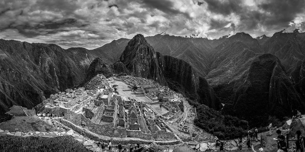 Machu Picchu by Helmut Steiner