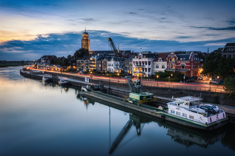 Sunset in Deventer by Jaimy Leemburg