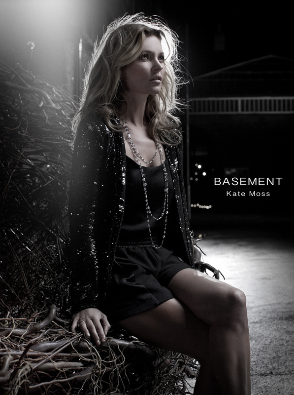 Basement with Kate Moss by Eric Knorpp
