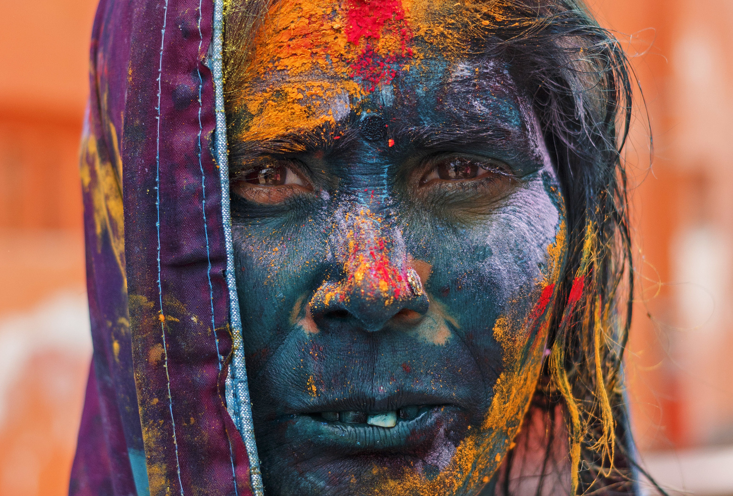 Holi...the soul full of colour by Ritwik Ray