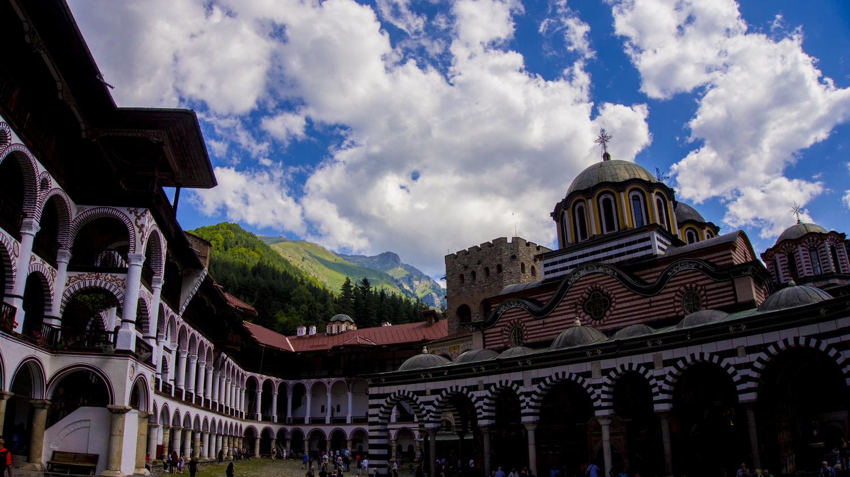 Rila monastery by Dimitar Bakalov