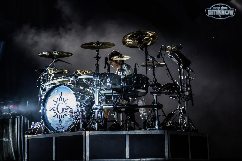 Godsmack at Intrust Bank Arena by Dotty Turner
