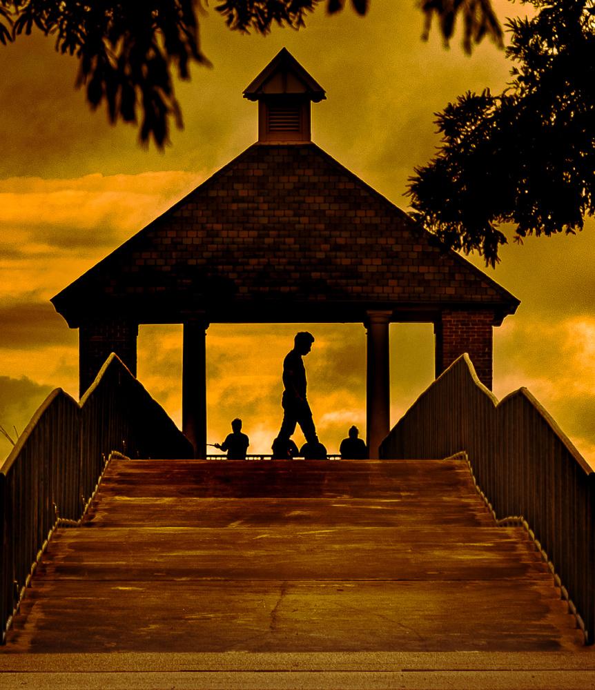 Louisiana Sunset by Joey Hamner